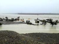 روستاهای جنوب سیستان و بلوچستان 4 تا 8 متر زیر آب