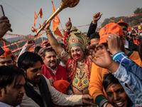 حالوهوای هندوستان در روزهای منتهی به انتخابات +تصاویر