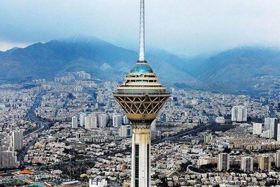 دمای هوا در تهران افزایش مییابد