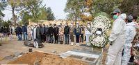مراسم خاکسپاری کامبوزیا پرتوی +عکس