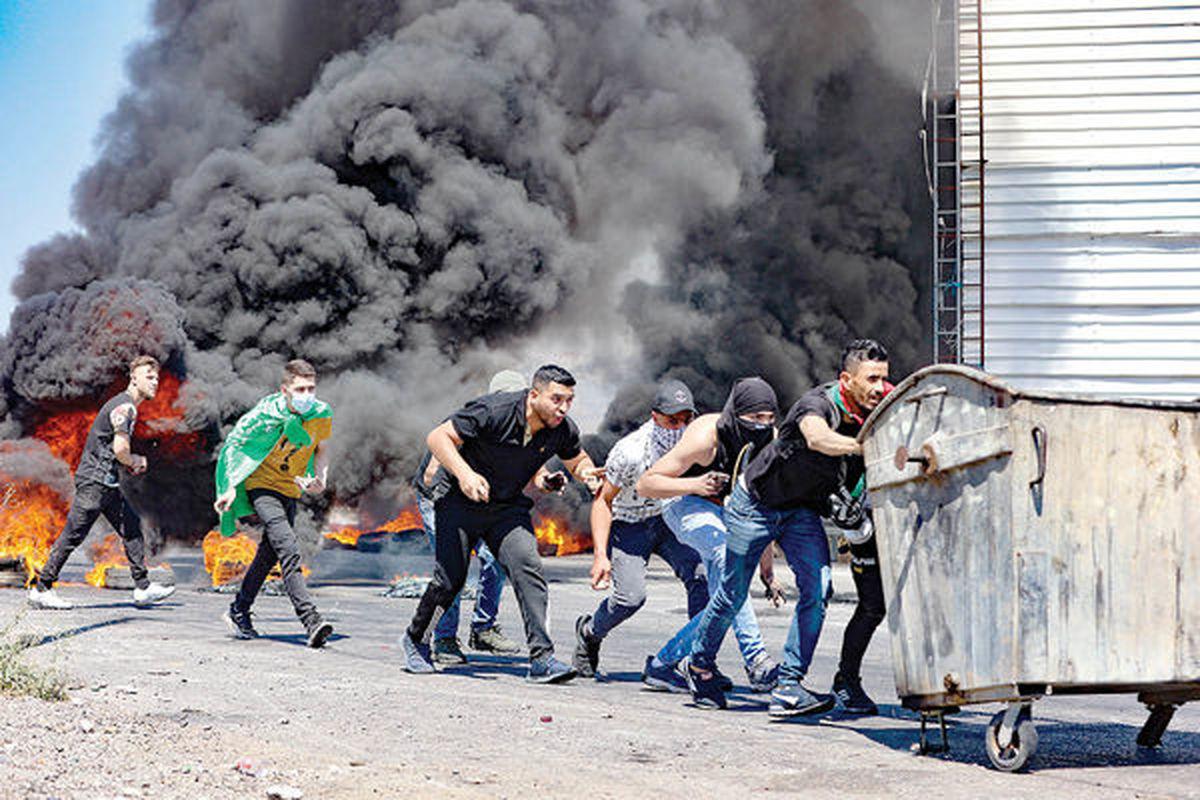 جنگ خیابانی در سرزمین های اشغالی