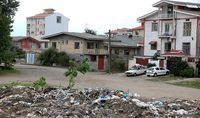 همنشینی زباله و ساحل +عکس