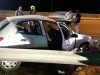 ۴ کشته در تصادف ٢٠۶ با تریلی