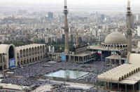 آخرین وضعیت ترافیکی معابر منتهی به مصلی تهران