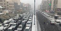 افزایش قابل توجه تردد خودرو در ساعت پیک ترافیک تهران