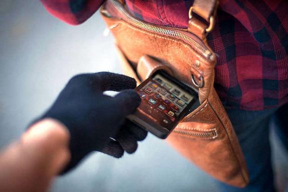 افزایش علاقه سارقان به گوشیهای همراه