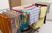 چرا نباید لباسها را داخل خانه خشک کنید؟