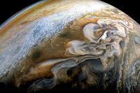 تصویری با وضوح بالا از سیاره مشتری منتشر شد