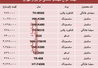 قیمت انواع سینما خانگی در بازار تهران؟ +جدول