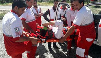 تصادف خودرو زائران یک کشته و ۶مصدوم برجا گذاشت