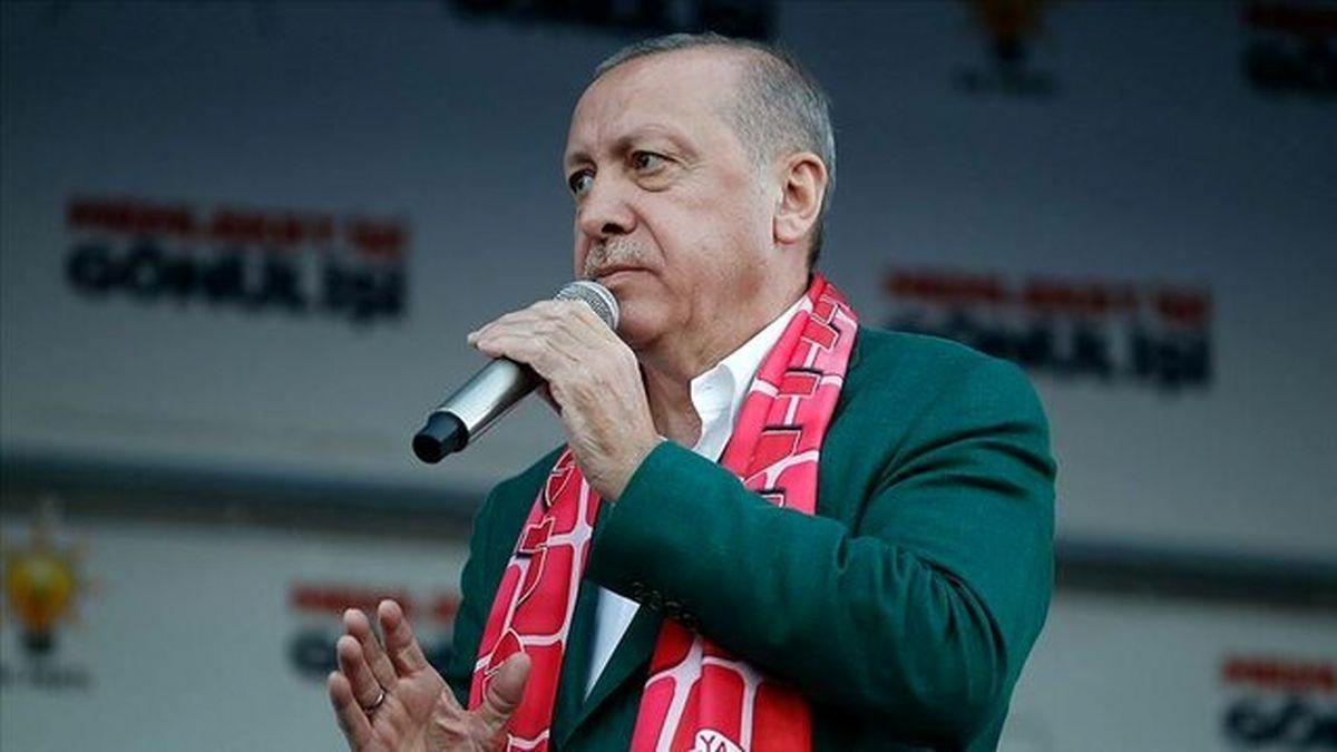 اردوغان عید نوروز را تبریک گفت
