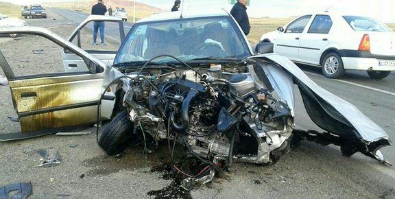 سانحه رانندگی مرگبار در شهرستان هریس