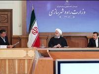 روحانی در دیدار با وزیر و مدیران وزارت راه و شهرسازی+عکس