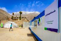 استقرار کمپهای امدادرسانی اسنوا در مناطق آسیب دیده سیسخت