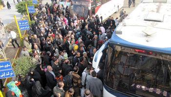 کمبود اتوبوس در مرزها در چه وضعیتی است؟