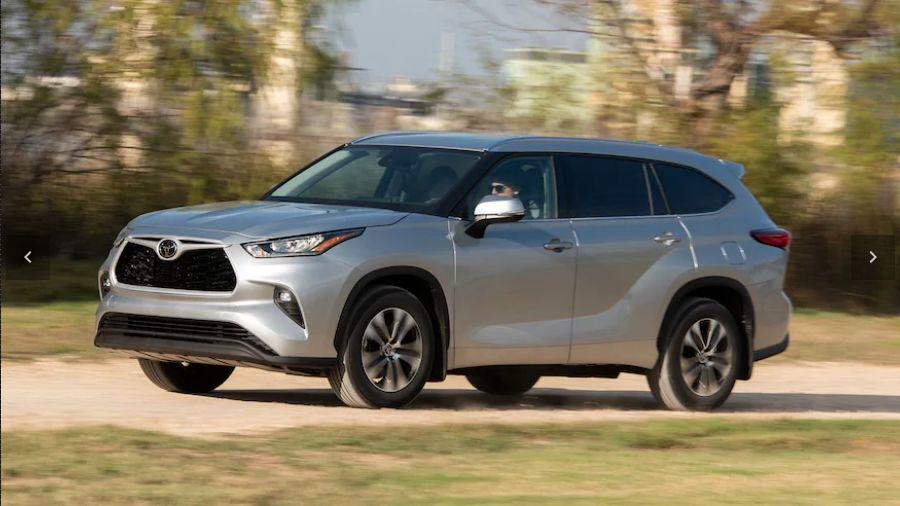 The 2020 Toyota Highlander Starts