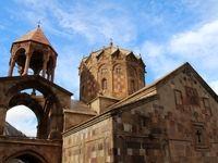 سنت استپانوس کلیسایی در قلب کوهها +تصاویر