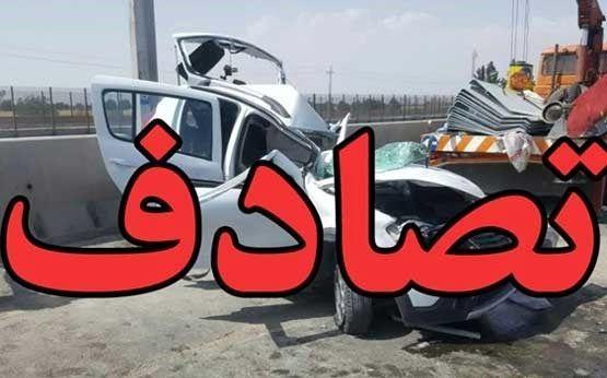 برخورد دو خودروی سواری ۶کشته و زخمی درپی داشت
