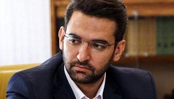 عیادت وزیر ارتباطات از علی پروین +عکس