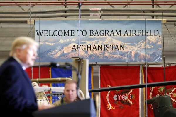 تـرامپ در افغانـستان