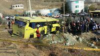 ترخیص تمامی مصدومان اتوبوس دانشگاه آزاد از بیمارستان