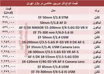 پرفروش ترین لنزهای دوربین عکاسی چند؟ +قیمت