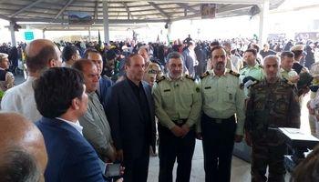 یک میلیون زائر اربعین از مرزهای چهارگانه تردد کردند