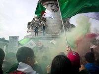جشن مخالفان ریاست جمهوری الجزایر +تصاویر