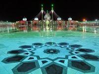 مسجد مقدس جمکران در آستانه نیمه شعبان +عکس