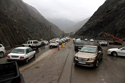ترافیک نیمه سنگین در ۴محور کشور