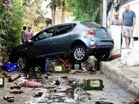 خسارتهای زلزله در ترکیه و یونان +عکس