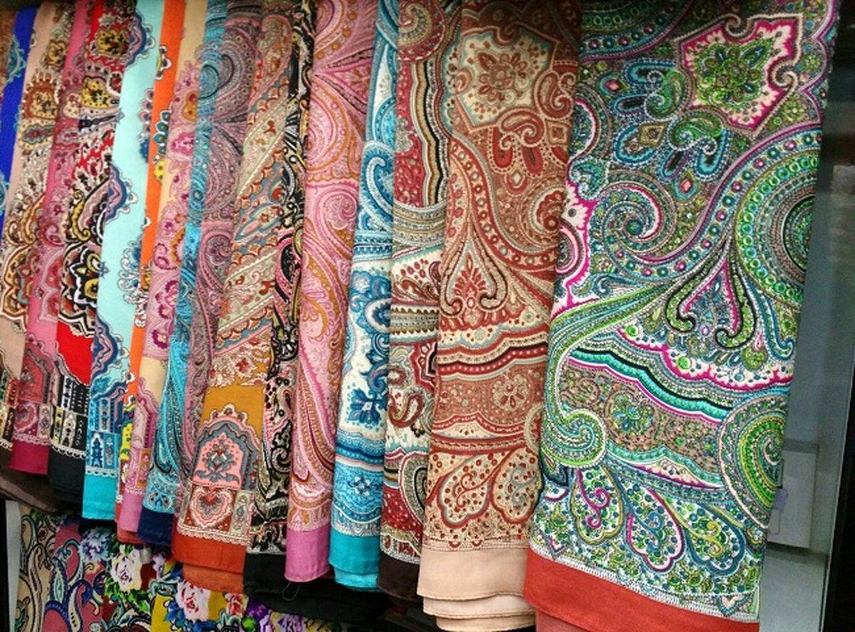 کاهش ۶۰درصدی فروش شال و روسری