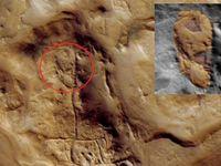 مریخ بار دیگر خبرساز شد +عکس