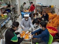 کمک شیرازیها با آبمیوه طبیعی به کرونامثبتها +تصاویر