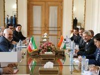 دیدار وزیر امور خارجه جمهوری هند با ظریف +عکس