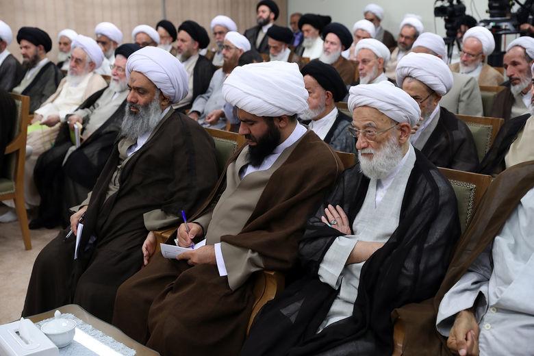 دیدار رئیس و نمایندگان مجلس خبرگان بارهبری +عکس
