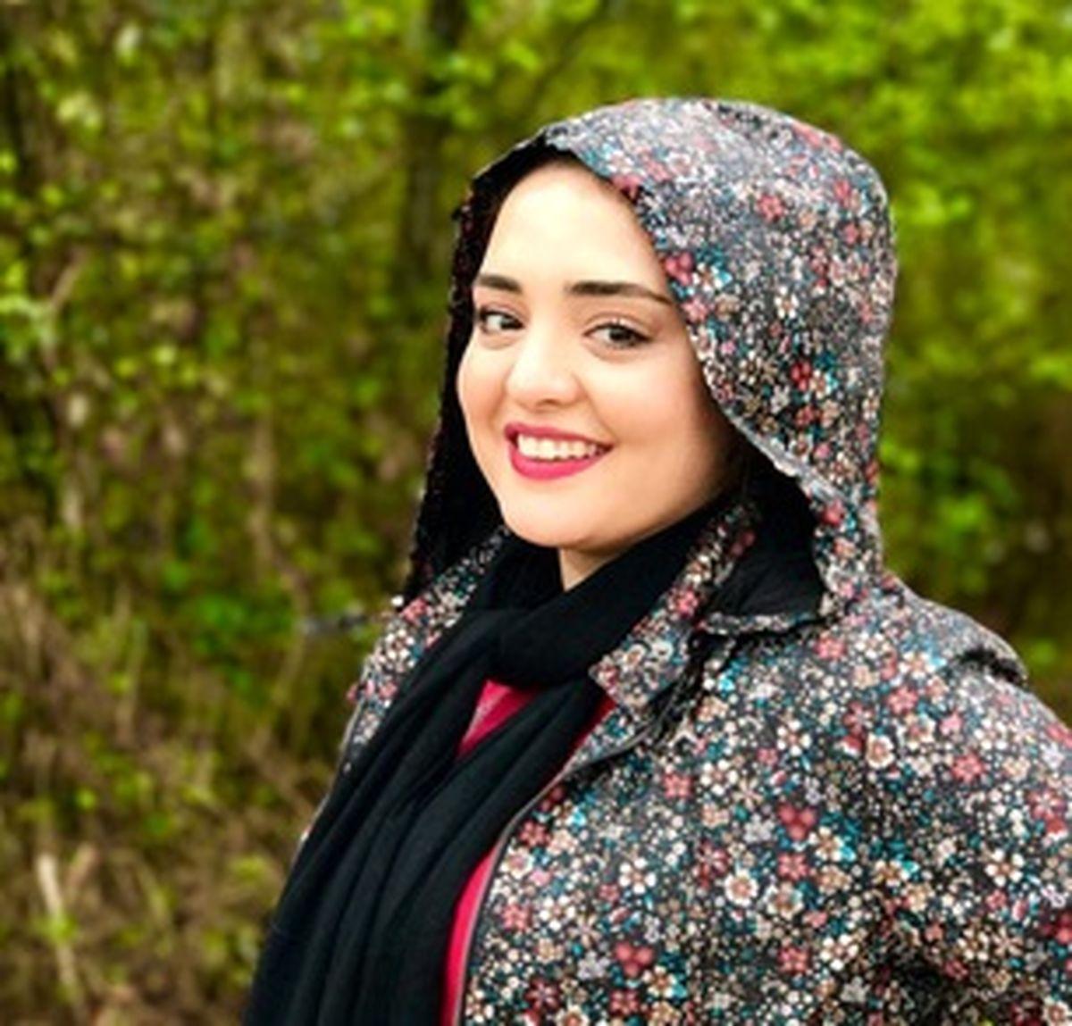 سلفی گل گلی نرگس محمدی +عکس