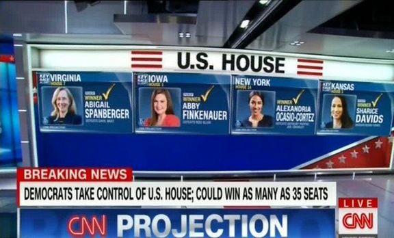 زنان؛ شگفتی سازان انتخابات میان دوره ای آمریکا