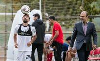 حضور فرد ناشناس در تمرین تیم ملی فوتبال +عکس