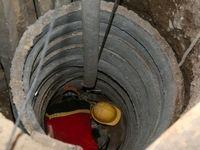 ریزش دیواره چاه کارگر ٢0ساله را 7ساعت گرفتار کرد