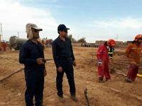 آتشسوزی خط لوله امیدیه مهار شد/ نفت جمع شده در لوله، علت ادامه حریق