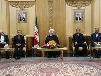 روحانی: سند همکاری میان ایران و هند امضا میشود +فیلم