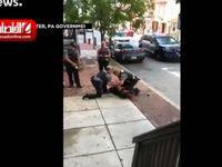 ویدیوی جنجالی استفاده پلیس آمریکا از شوکر +فیلم