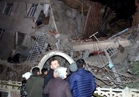 افزایش تلفات زمینلرزه ترکیه