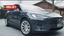 تیزر جدید خودرو تسلا مدل X +فیلم