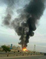 انفجار مهیب مخزن «ال پی جی» در دزفول
