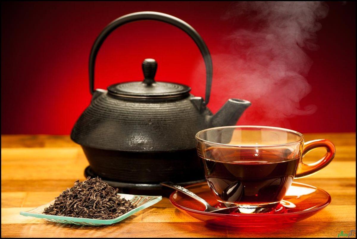 ۷ بیماری ناشی از نوشیدن چای