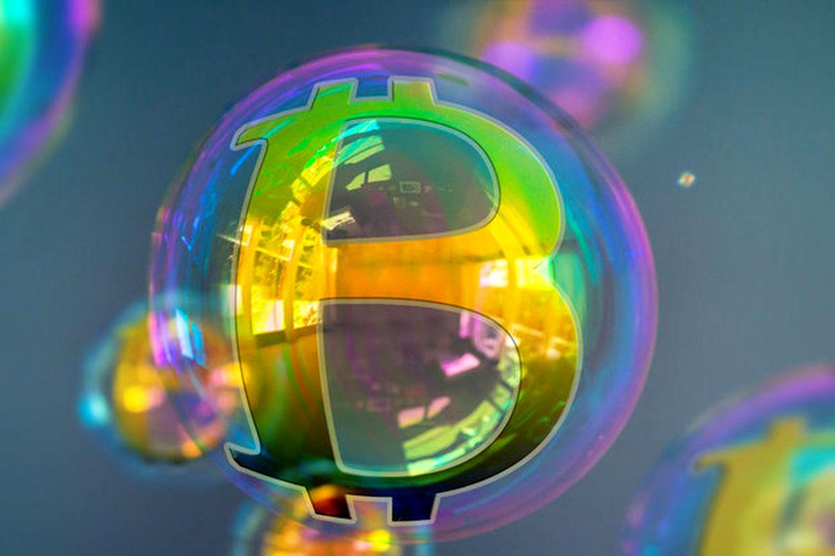 حباب بزرگ قیمت بیت کوین