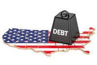 بدهی آمریکا سال آینده از اقتصادش بزرگتر میشود