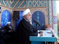 روحانی از کشف یک میدان جدید نفتی بزرگ خبر داد +فیلم
